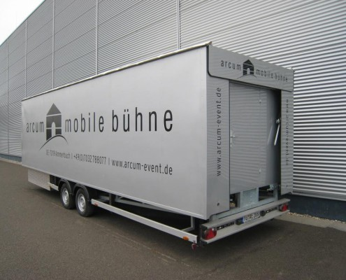 mobile Bühne – QUADREX Event